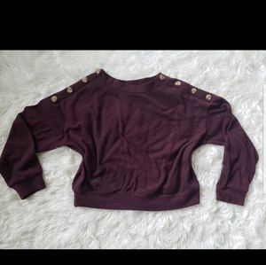 Sweaters - Burgundy sweater